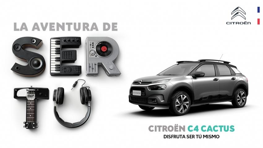"""""""La aventura de ser tú"""": La nueva campaña de Citroën busca que disfrutes de ser tú mismo"""