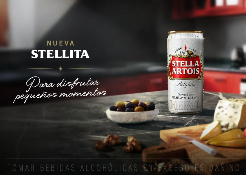 """Stella Artois presenta """"STELLITA"""", su nueva latita de 269 ml (VÍDEO)"""