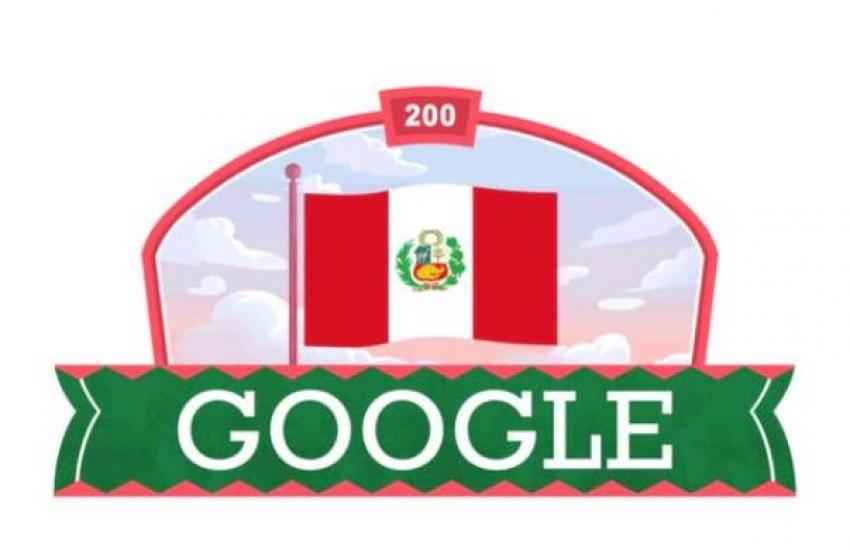 Google dedica un Doodle a Perú por sus 200 años de independencia